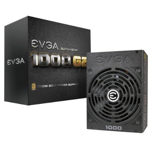 EVGA SuperNOVA 1000 G2 80+ GOLD, 1000W Fully Modular NVIDIA SLI e Crossfire Ready 10 anni Garanzia...