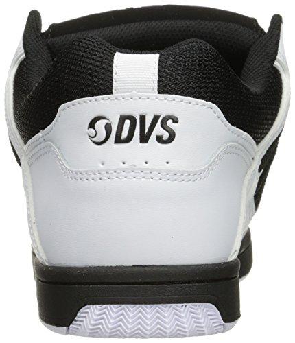 SARPE DVS SHOES ENDURO 125 001 WHT BLK LTHR CEMENT SKATE White
