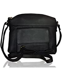 Style98 100% Genuine Leather Unisex Crossbody Sling Bag - B01N7N4O4X