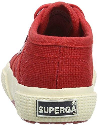 Superga 2750 Jcot Classic, Sneakers basses mixte enfant Rouge - rouge