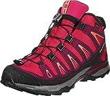 Salomon Unisex-Kinder X-Ultra Mid GTX J Trekking-& Wanderhalbschuhe, (Virtual Pink/Beet Red/Living Coral 000), 38 EU
