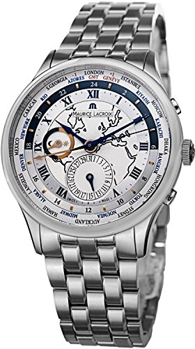 Maurice Lacroix MasterPiece Men's 42mm Chronograph Date Watch MP6008-SS002111