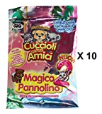 Jungle In My Pocket (Cuccioli Cerca Amici Mini Figure - Blind Bag Party Loot Bag Pack of 10