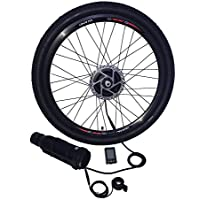 ELECYCLES 36V250W Kit de Conversión Eléctrica inalámbrica para Bicicleta EEKit Rueda Delantera Ebike Kit, ...