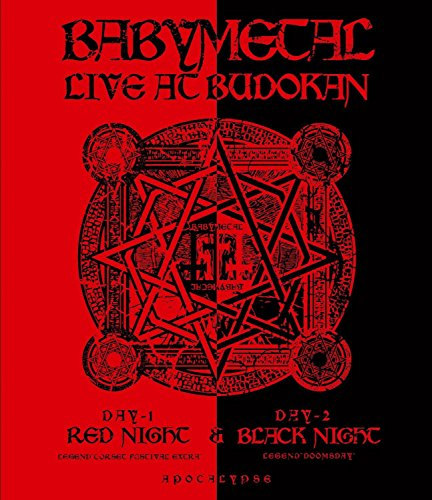 Babymetal - Live At Budokan: Red Night & Black Night Apocalypse