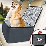 WLZP Pets Car Booster Seat è una nuova riforma, che offre ai cani uno spazio separato, guardando ilscenario vicino alla finestra, e godendo un viaggio felice con l'amore domestico.Non temete più che gli animali cadano dai freni, non preoccupa...