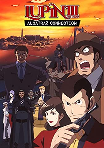 Lupin the 3rd Alcatraz Connection [DVD] [Region 1] [US Import] [NTSC]