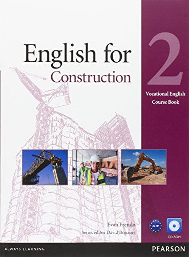 English for Construction Level 2 Coursebook and CD-ROM Pack (Vocational English)