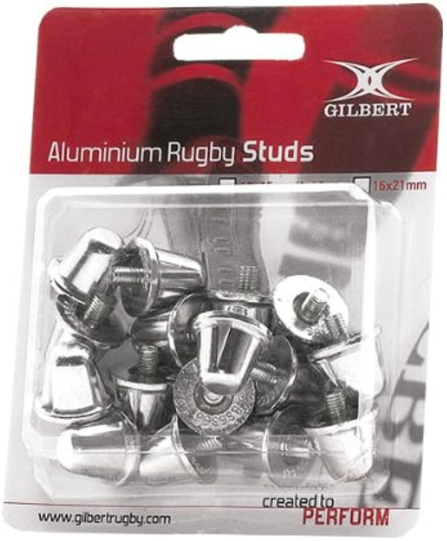 GILBERT aluminium rugby studs [15+18mm mix]