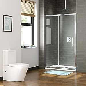 duschkabinent r aus glas leicht zu reinigen 1200 mm ibath k che haushalt. Black Bedroom Furniture Sets. Home Design Ideas