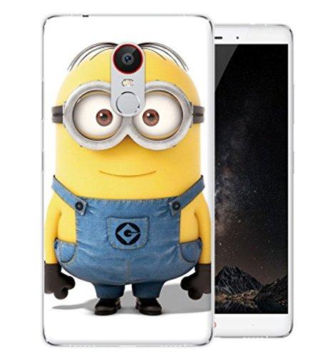 PREVOA ® 丨Colorful Silikon Hülle Cover Case Schutzhülle Tasche für Nubia NX523J Z11 Max Smartphone (15 cm (6 Zoll) - (2)