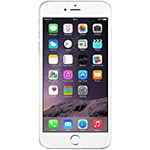 "Apple iPhone 6 Plus, at&t SIM única 4G 16GB Plata - Smartphone (at&t, 14 cm (5.5""), 16 GB, 8 MP, iOS, 8, Plata)"