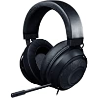 Razer Kraken - Wired Gaming Headset for Multiplatform Gaming for PC, PS4, Xbox One and Switch, 50 mm Diaphragm, 3.5 mm…