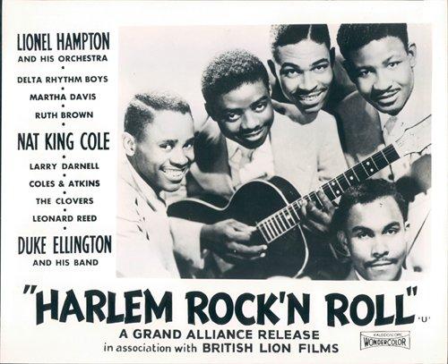 Nostalgia Store Harlem Rock 'n Roll Revue Original Lobby Karte der Kleearten Portrait Foto, 1956 (Harlem Foto)