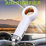 cuckoo-X Purificatore d'Aria per Auto USB, Mini Deodorante Portatile a ioni Negativi, migliora la Salute e Il Benessere respiratorio, ionizzatore d'Aria rimuove Polvere, polline, Fumo, odori, PM2.5