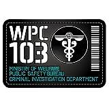 PSYCHO-PASS - psychopaths - Public Security Bureau PVC patch