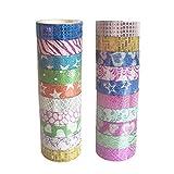 Scrox 10 Pcs Cadeaux autocollants bricolage artisanat décoration papier collant avec scrapbook chambre décoration calendrier album décoration