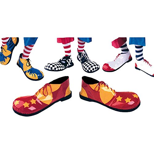 3--Schuhe Clown Erwachsene Sortiert äußerlichen Anwendung ()