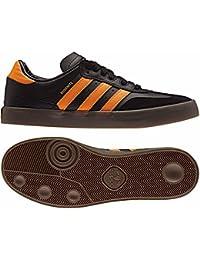 Adidas Busenitz Vulc Samba Edition Core Black/Natural/Bright Orange