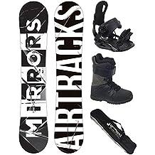 Airtracks Snowboard Set - Tabla Cubo Man 159 - Fijaciones Star M - Sb Bag/nuevo ggcz3QZM