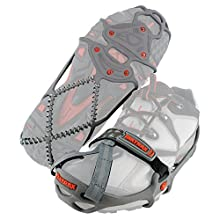 Yaktrax Run Crampons à neige et glace Gris Taille S