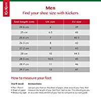 Kickers Kick Lo Core, Boys Lace-Ups, Black (Black), 8 UK