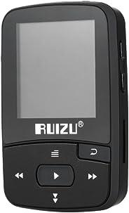 RUIZU X50 8GB 1.5in MP3 MP4 Player HiFi Lossless Sound Quality Bluetooth Pedometer TF Card FM Radio Recording E-book Time Cal
