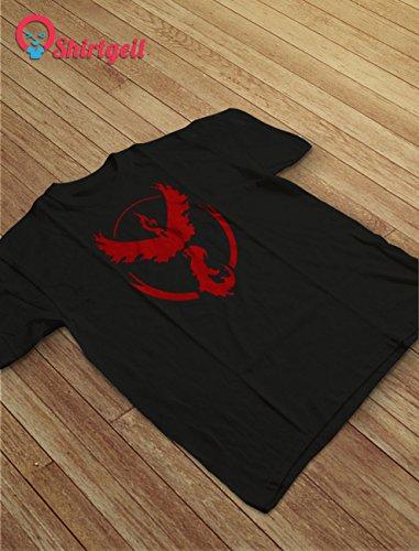 Go Team Rot Team Valor Logo T-Shirt Olivgrün