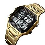 Huang Dog-shop Hombre Deportivos Relojes LED De Analógico Relojes De Pulsera, Resistente Al ...
