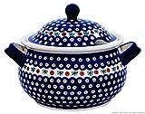 Original Bunzlauer Keramik Suppenterrine 5.0 Liter im Dekor 41 (Bild: Amazon.de)