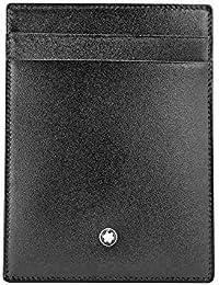 MONTBLANC CREDIT CARD HOLDER BLACK LEATHER 2665