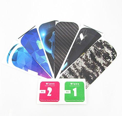 rantow 6Stück Shell Dekoration Aufkleber Decals für DJI Spark Drone Wasserdicht DIY Haut Dekoration Drone Body Aufkleber