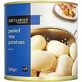 Larder pelées Chef pommes de terre nouvelles dans 2,6 kg d'eau (pack de 6 x 2,6 kg)