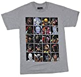 Photo de Men's X-Men Distressed Character Squares T-Shirt,T-Shirts à Manches Courtes par NR58AD2335