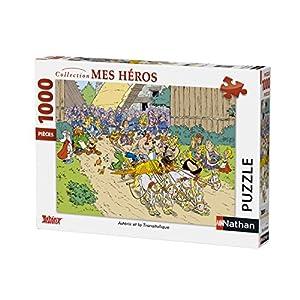 Nathan-Puzzle-Astérix y La transitalique-1000Piezas, 87559