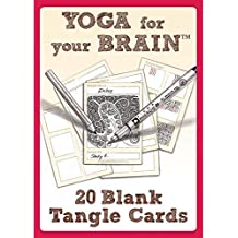 Yoga for Your Brain Totally Tangled Edition (Design Originals) by Sandy Steen Bartholomew CZT (February 7, 2014) Cards
