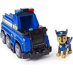 Paw Patrol - 6045905 - Jeu enfant - Véhicule + Figurine Chase Ultimate Rescue - La Pat' Patrouille