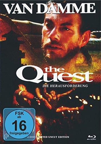 The Quest - Die Herausforderung - Uncut - Mediabook (+ DVD) [Blu-ray] [Limited Edition]