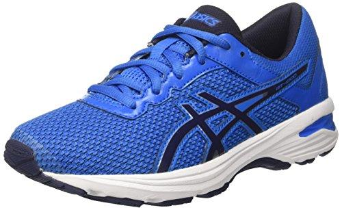 Asics gt-1000 6 gs, scarpe running unisex-bambini, blu (directoire blue/peacoat / silver), 40 eu