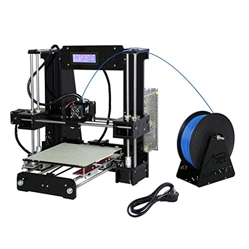 Anet X6 High Speed Precision DIY 3D Drucker Printer Kit mit größerer Druckgröße 220*220*250mm | PLA ABS 1.75mm Filament | Auto-Nivellierung | Technischer Support - 3
