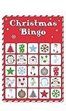 15 Christmas Bingo Cards Xmas Party Stocking Gift Bag Filler Family Kids Office Home Pub Bar Secret Santa Game by Concept4u