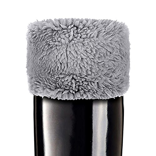 TPLB Rain Boots Fleece Welly Socks| Warm, Thermal, Insulated & Plush Fleece Socks | For Rain Snow Hunter Boots (Grey, L) (Rain Insulated Womens)