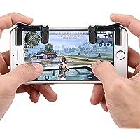 WARMTOWER Mobile Game Controller Gamepad Phone Shoot et But Trigger pour PUBG/Couteaux Out/Règles de Survie L1R1