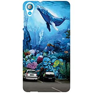 Htc Desire 820Q-Fly Away Matte Finish Phone Cover