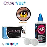 ColourVUE 14MM Crazy Lens Flame Hot Colo...