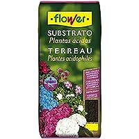 Flower 80094 - Substrato plantas ácidas, 5L, 24 x 4.5 x 39 cm, color marrón