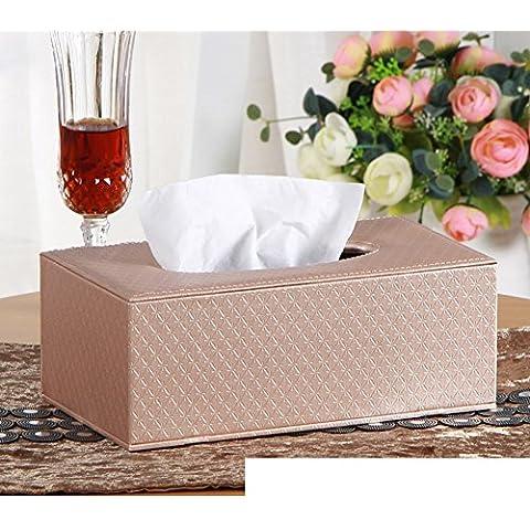Página de inicio de caja del tejido cortical/Cajas de Kleenex/Sala caja servilleta mesa/Bandeja de coche creativo-D