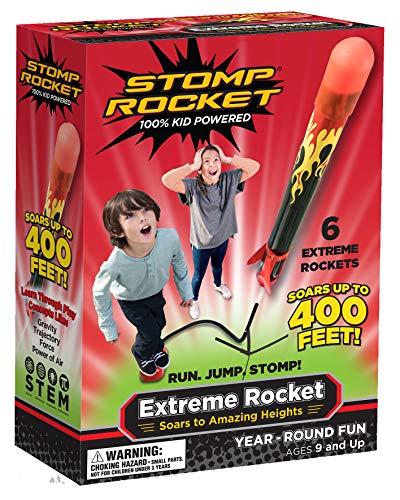 Stomp Rocket 365042 - Extreme Rocket, Druckluftrakete -