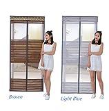 GZQHH Fliegengitter Tür Insektenschutz Magnet - Klebmontage Ohne Bohren - Vorhang Für Balkontür Wohnzimmer Schiebetür Terrassentür,95*210Cm