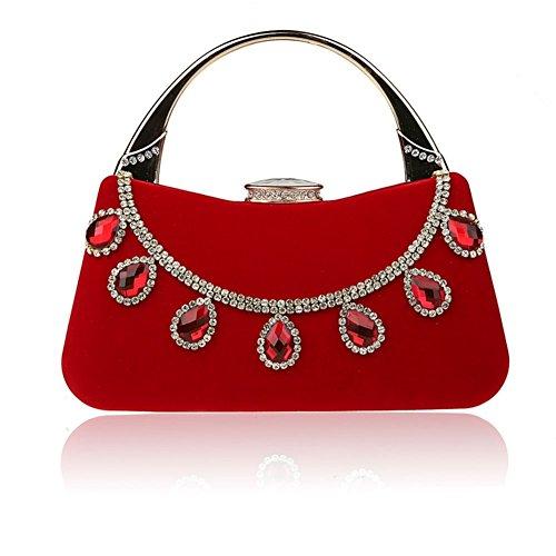 Strass borsa mini/Borsa di moda cena/Cena clutch bag-A A